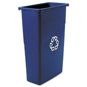 slim-jim-recycling-container-rectangular-plastic-23gal-blue-by-rubrmd