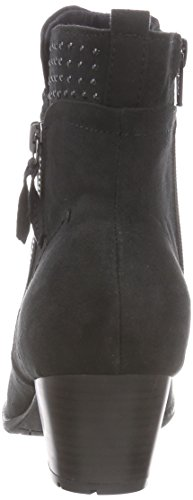 Softline25360 - Stivali classici imbottiti a gamba corta Donna Nero (Schwarz (schwarz (BLACK 001 )))