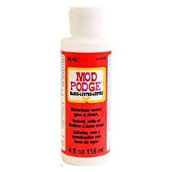 Plaid CS11205 Mod Podge All-in-1 Glue Set 4-Ounce Gloss ...