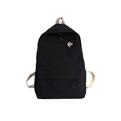 Schulrucksack Schulranzen Schultasche Sports Rucksack Pwtchenty Freizeitrucksack Daypacks Backpack Für Mädchen Jungen Kinder Jugendliche Mit Der Großen Kapazität Nylon Einfarbig
