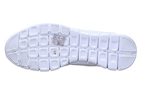 Reservoir Shoes - Basket Dario White Mesh Blanc