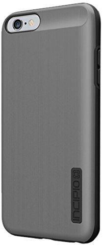 Incipio DualPro Shine Schutzhülle für Apple iPhone 6Plus (Gunmetal/Schwarz)-iph-1196-gmtlblk