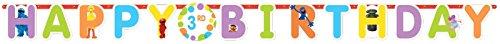 Amscan Sesame Street Jumbo Birthday Add a Number Banner, Multicolor