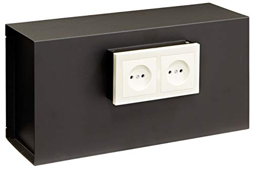 Arregui Caja Fuerte camuflada para Rejilla Enchufe Color Negro 23000w-S1