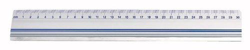 Wedo - Regla para cortar con freno antideslizante, 30 cm