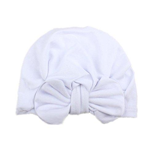 houzhi - Gorras de Punto con Lazo, para bebés, niñas, Bohemio, para