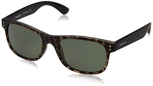 Timberland sonnenbrille tb9063 5398r occhiali da sole, marrone (braun), 55 uomo