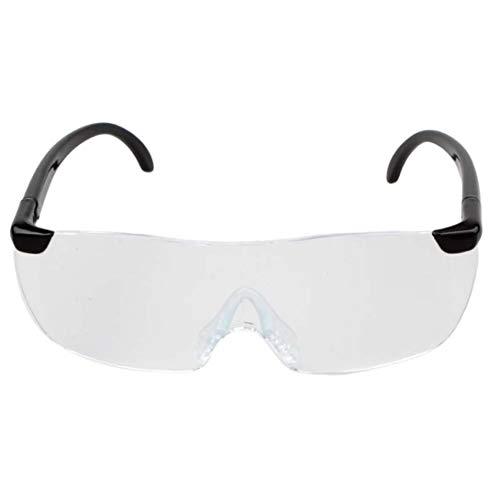 Swiftswan Große Vision 1.6X Vergrößerungslesebrille Flammenlose leichte Eyewear Lupe 250-Grad-Vision-Objektiv für ältere Menschen