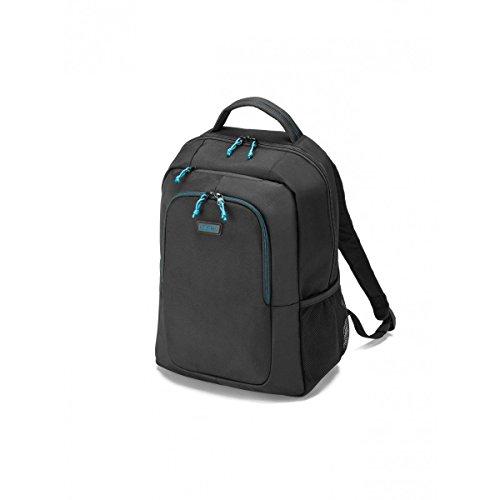 Dicota Spin D30575 Zaino 14-15.6 pollici, 21,5 litri, Polyester, Colori: Nero/Blu
