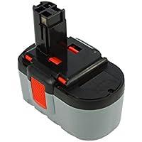 Power Smart® 3000mAh 24V NiMH batería para Bosch GSR 24V, gsr24V, GSR 24VE-2, PSB 24VE-2, gsr24ve de 2, psb24ve de 2, GSR24VE-2, PSB24VE-2, GSR 24VE-2, PSB 24VE-2