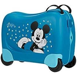 Samsonite Dream Rider Disney - Maleta Infantil (51 cm), Mickey Letters (Azul) - 109641/7224