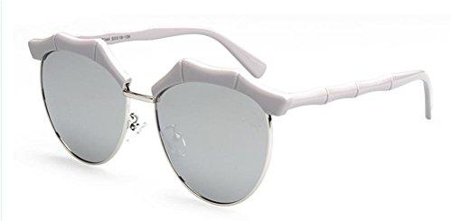 Marcus R Caveggf Weiblich Halber Rahmen Polarisiert UV 400 Schutz Reise draussen TAC Optische Gläser, 003