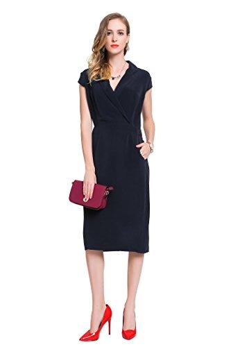 voa-womens-navy-blue-short-sleeve-office-silk-midi-dress-a6059