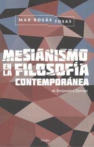 Mesianismo en la filosofía contemporánea