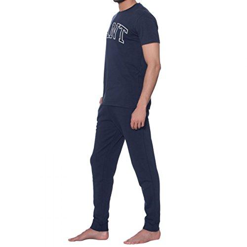 GANT 1701.294131 T-Shirt mit Kurtzen Ärmeln Harren Blau