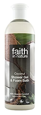 Faith in Nature Coconut Shower Gel & Foam Bath plus