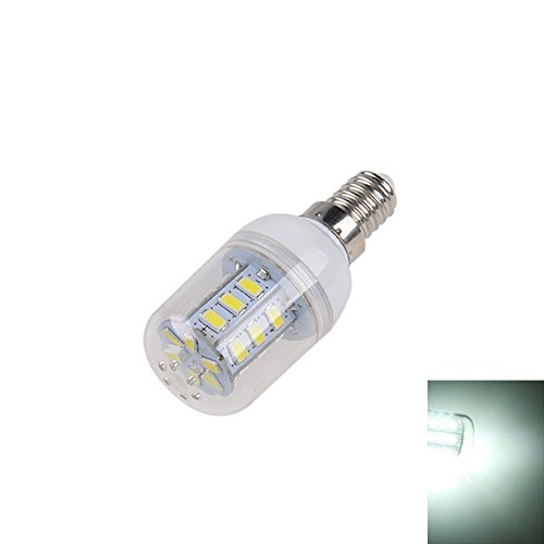 E14 3W LED Gl¨¹hbirne, Minkoll 3528 Mais Lampe AC 200-240V hohe Energieeffizienz (Cool White) -
