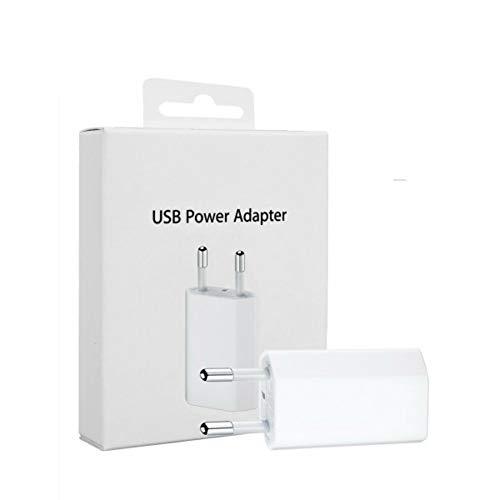 MyPhone® USB 5W Adapter Blister Retail Pack MD813 A1400 USB Netzteil 1000mAh 5V 5 Watt USB Ladegerät für iPhone 6 5 5S 5C 4S 4, 3GS Adapter Blister Pack