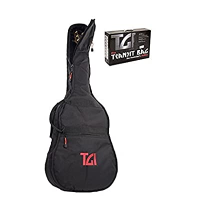 10mm Padded Gigbag / Rucksack Carry Bag for Acoustic, Dreadnought Guitar / Folk Guitar - acoustic-guitar-cases, musician-bags