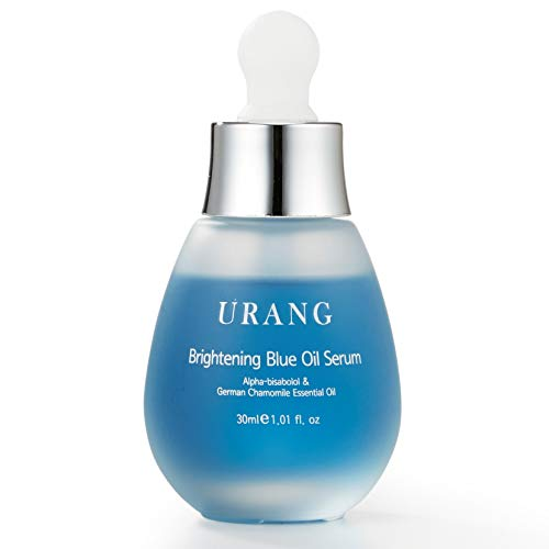 URANG Brightening Blue Oil Serum Aufhellende Pflege - Feuchtigkeitspendend, Ausgleichend, Beruhigend...