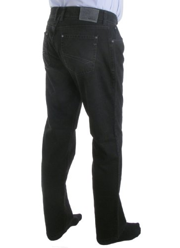 Hattric, Jeans a Gamba Dritta Uomo black used (09)