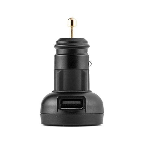 OneConcept Airco One Funk-Reifendruck-Kontrollsystem USB Reifendruck Prüfsystem Messsystem inkl. Montagematerial (akustische und visuelle Warnsignale, praktischer USB-Lade-Anschluss)