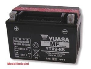 YUASA YTX4L-BS Powersports AGM Motorrad Batterie, wartungsfrei (Preis inkl. EUR 7,50 Pfand)