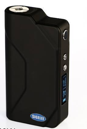 Authentic Sigelei 150W Variable Wattage Temperature Control Mini Box Mod Black by VR46