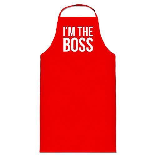 Shirtcity I'm The Boss Kochschürze by - Haltung Hoodie