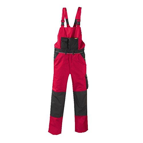 teXXor 2-in-1 Arbeitsbundhose Canvas 320 mit Cordura, verstärkt rot 54, 20-008333-54