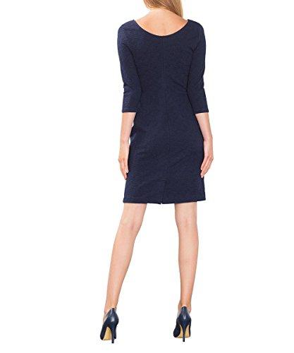 ESPRIT Damen Kleid 106ee1e017 Blau (navy 400)