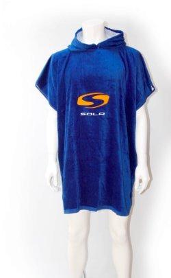 Sola Poncho mit Kapuze Ändern Handtuch-One Size Velours-poncho