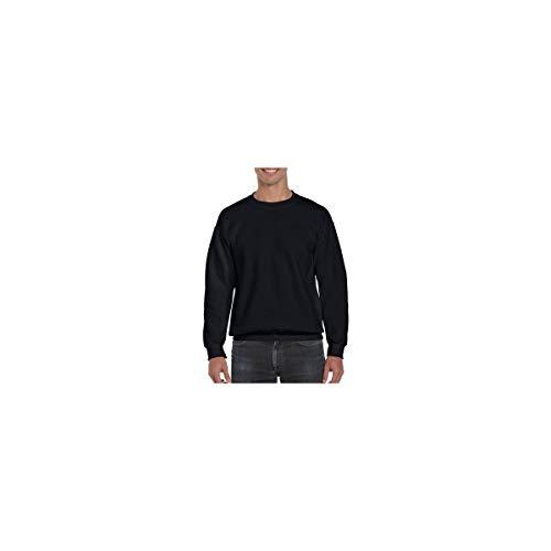 Gildan DryBlend Sweatshirt / Pullover mit Rundhalsausschnitt (M) (Schwarz)