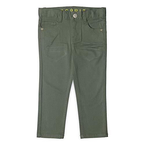 ESPRIT KIDS Jungen Woven Pants Hose, Grün (Light Khaki 565), Herstellergröße: 104 (Jungen Khaki-hosen Slim)