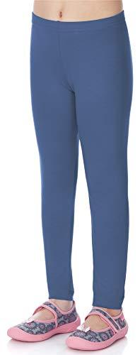 Merry Style Leggins Mallas Pantalones Largos Ropa Deportiva Niña MS10-130 (Jeans, 152)