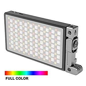 INSSTRO Boling BL-P1 RGB LED Full Color Camera/Camcorder Light, Pocket Size Rechargeable Video Light