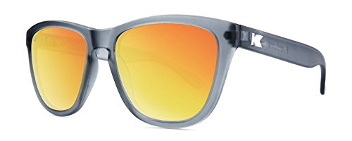 Knockaround Frosted Grey/Red Sunset NEW PREMIUMS