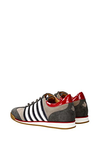 W13SN419V239M071 Dsquared2 Sneakers Homme Chamois Multicouleur Multicouleur
