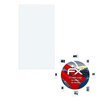 atFoliX Schutzfolie kompatibel mit Xomax XM-2DA801 Panzerfolie, ultraklare und stoßdämpfende FX Folie (3X)