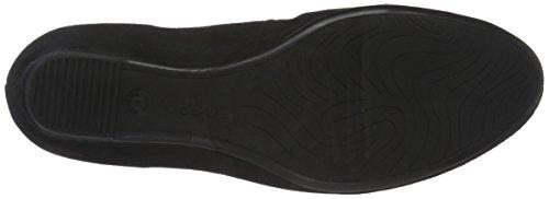 Gabor Shoes Basic, Scarpe con Tacco Donna Nero (Schwarz 17)