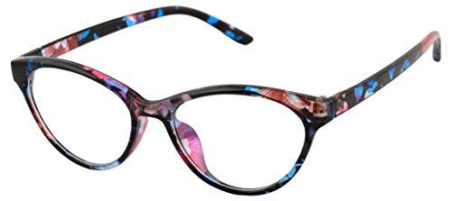 SB Rimmed Cateye Women's Spectacle Frame - vinodop029 | 45 mm