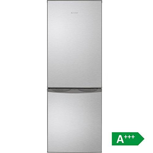 Bomann KG 322 Kühl-Gefrier-Kombination / A+++ / 143 cm 110 kWh/Jahr / 122 L Kühlteil / 43 L Gefrierteil / justierbare Standfüße