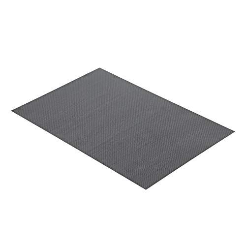 qumingchenba 3K Carbon Fiber Plate Plain Weave Panel Sheet 0.5mm Thickness(Glossy Surface) -