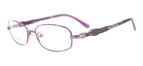 Monture TR90Cadre de Ding Kids Titane Temple Eye Lunettes Cadre violet