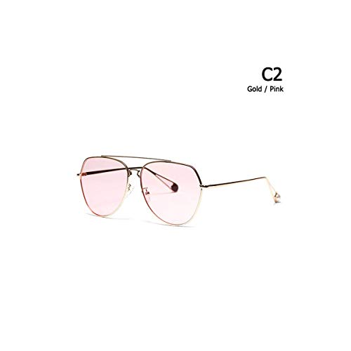 Daawqee Prämie Sonnenbrillen,Brillen, Gold Metal Aviation Style Sunglasses UV400 Gradient Brand Design Sun Glasses Oculos De Sol 813032
