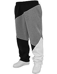 Urban Classics Homme Pantalon de jogging Zig Zag Pantalon de survêtement TB286 URBAN adapté