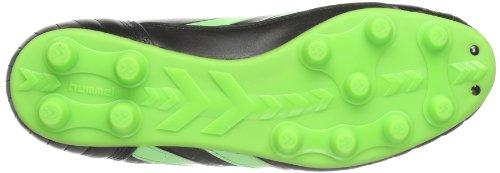 Hummel Celestial Dk2x Fg Kangeroo, Chaussures de football mixte adulte Noir - Schwarz (BLACK/GREEN GECKO 1015)