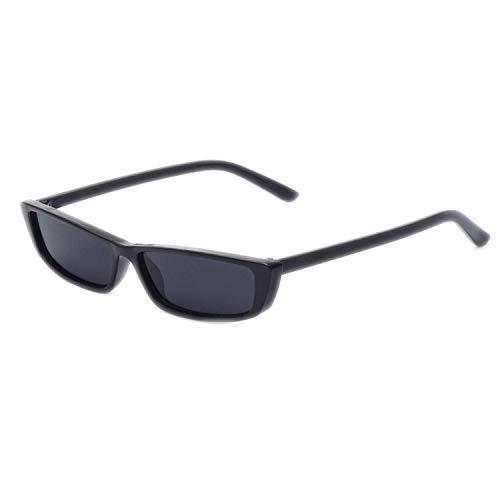 WERERT Sportbrille Sonnenbrillen Vintage Rectangle Sunglasses Women Designer Small Frame Sun Glasses Retro Eyewear Narrow Glasses UV400