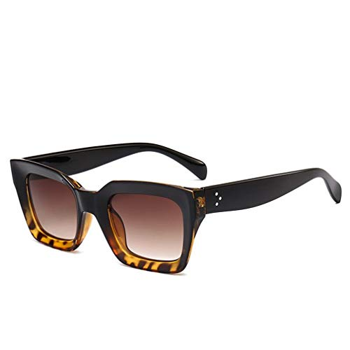 Fliegend occhiali da sole quadrati polarizzati donna uomo occhiali da sole retrò vintage unisex occhiali da sole uv400 lente specchiata ultraleggero