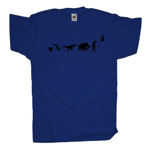 Ma2ca - 500 Mio Years - Stab Hochsprung T-Shirt Royal